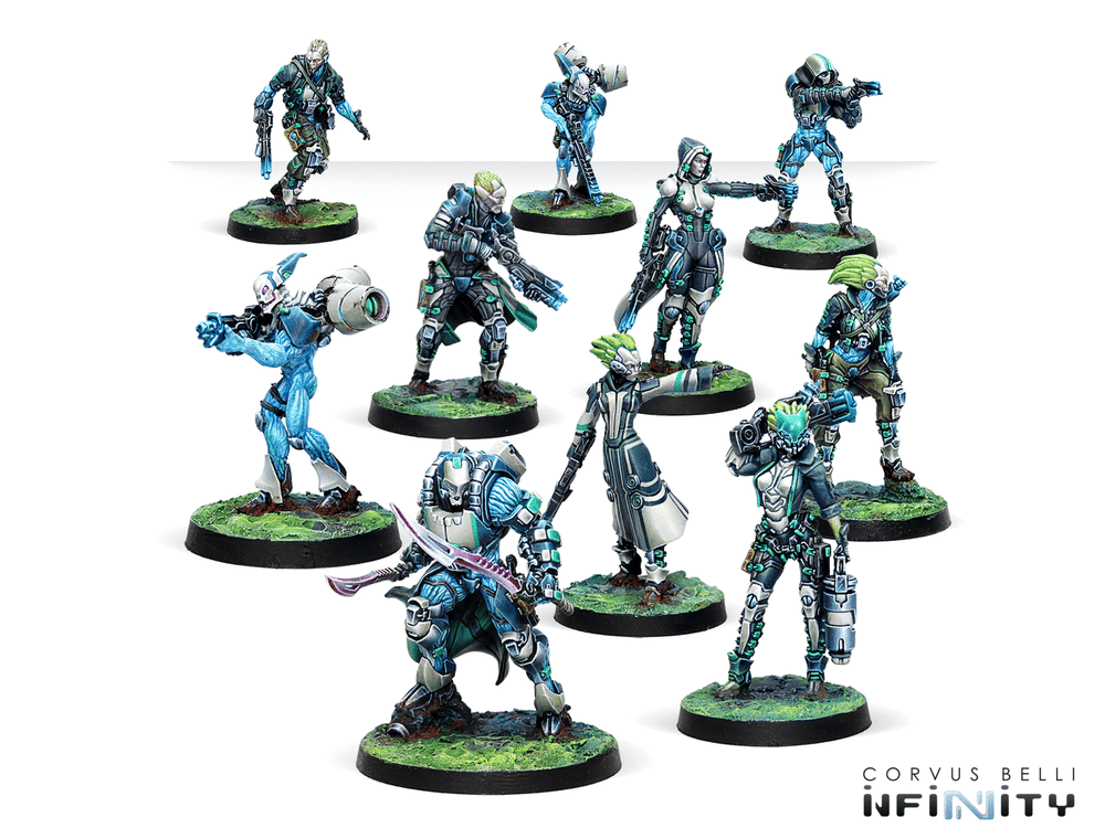 Infinity: Tohaa: Spiral Corps Army Pack