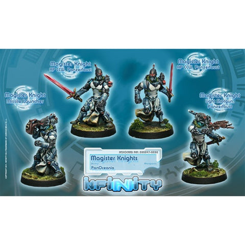Infinity: PanOceania Magister Knights