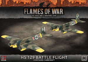 Flames of War: Mid War: German: HS 129 Battle Flight (GBX135)
