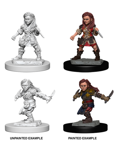 Nolzur's Marvelous Miniatures: Halfling Female Rogue (72627)