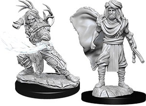 Nolzur's Marvelous Unpainted Miniatures: Male Human Druid (73390)