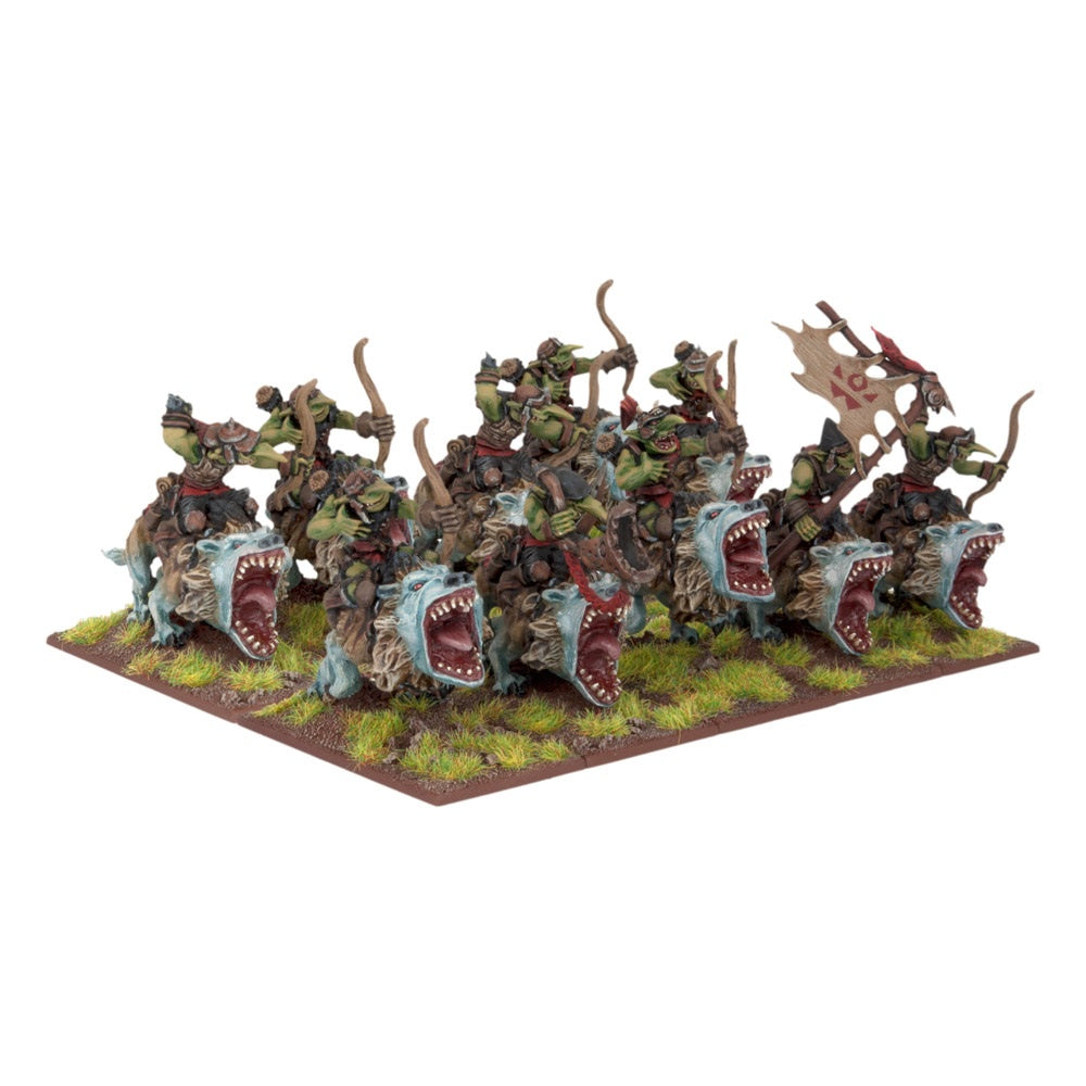 Kings of War: Goblin Fleabag Sniff Regiment