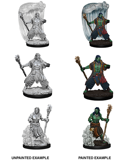 Nolzur's Marvelous Miniatures: Water Genasi Male Druid (73337)