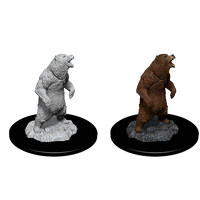 Wizkids Deep Cuts Unpainted Miniatures: Grizzly (73551)