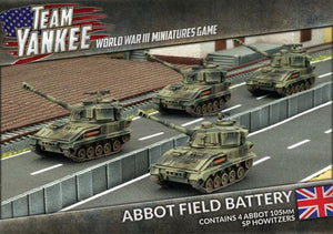 Team Yankee: British: Abbot Field Battery (TBBX06)
