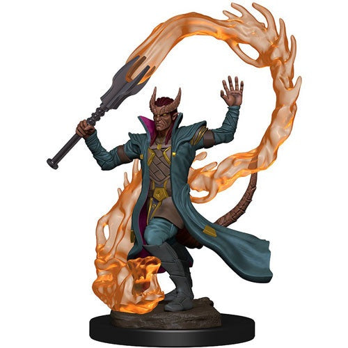 Dungeons and Dragons Icons of the Realms Premium: Tiefling Male Sorcerer