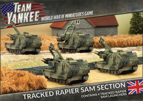 Team Yankee: British: Rapier SAM Section (TBBX07)