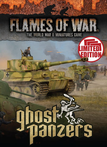 Flames of War: Mid War: German: Ghost Panzer Unit Cards (FW251U)