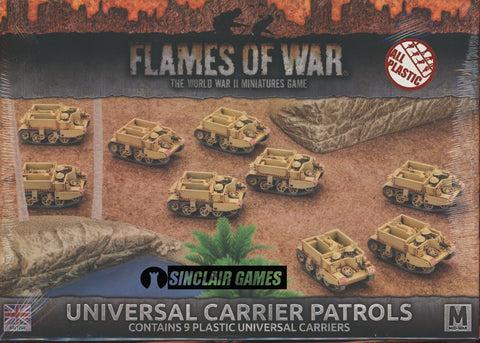 Flames of War: British: Mid War: Universal Carriers (BBX35)