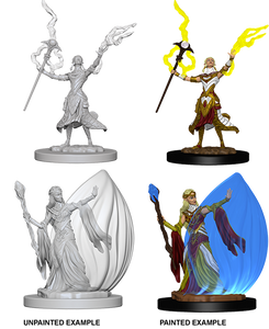 Nolzur's Marvelous Miniatures: Elf Female Wizard (72623)