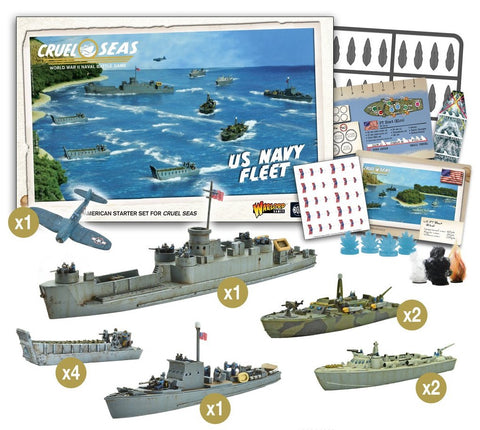 Cruel Seas: U.S. Navy Fleet