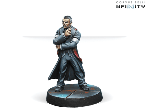 Infinity: Mercenaries O-12 High Commissioner (HVT/ Civil)