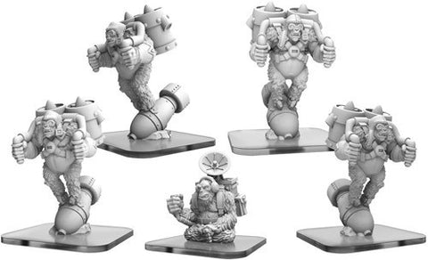 Monsterpocalypse: Empire of the Apes: Ape Bombers & Command Ape (51069)