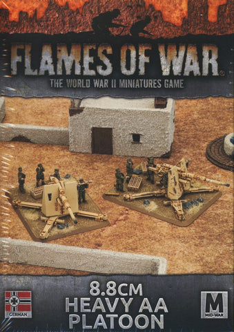 Flames of War: German: 8.8cm Heavy AA Platoon (GBX98)