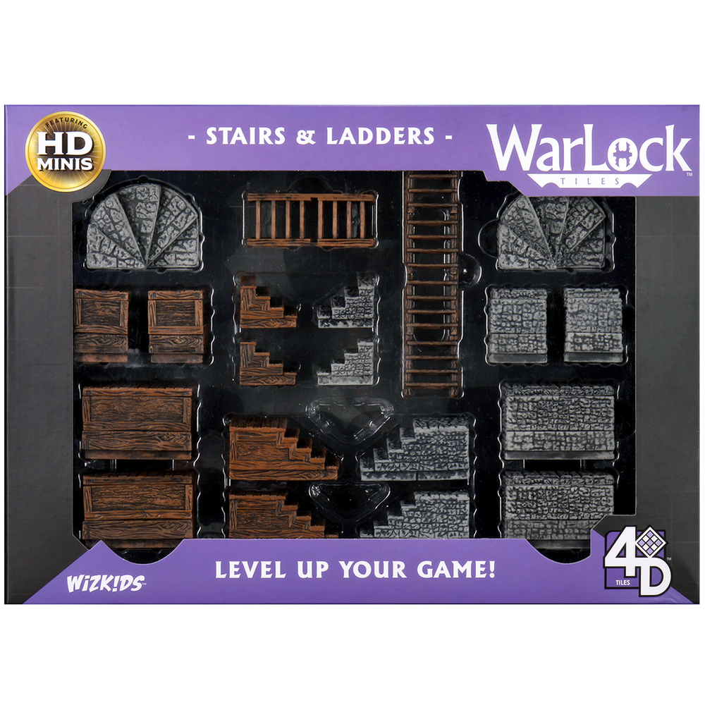 Warlock Tiles: Stairs and Ladders (16504)