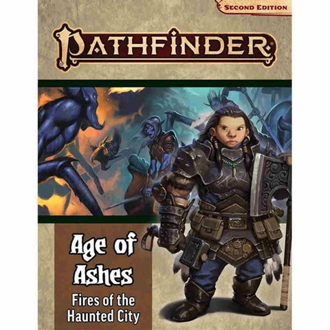 Pathfinder RPG: Adventure Path: Age of Ashes 4: Fire of the Haunted City (90148)
