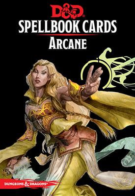 Dungeons & Dragon: Arcane Spellbook Cards (73915)