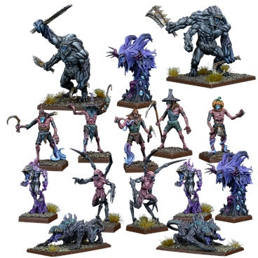 Kings of War Vanguard: Nightstalker Warband Set