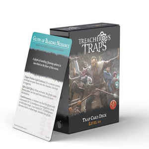 Treacherous Trap Deck: Challenge Rating 5-8