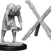 Wizkids Deep Cuts Unpainted Miniatures: Assistant and Torture Cross (73424)