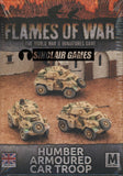 Flames of War: British: Mid War: Humber Troop (BBX34)