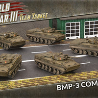 PRE Order WWIII Team Yankee: Soviet BMP-3 Company (TSBX23)