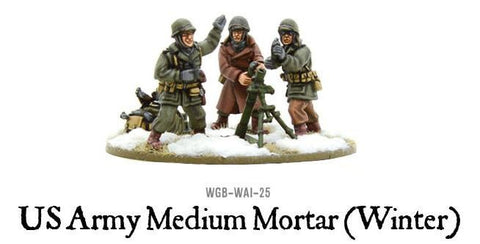 Bolt Action: United States: Winter Medium Mortar Platoon