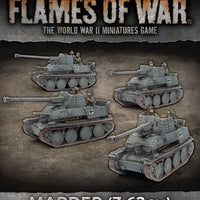 Flames of War: Mid War: German: Marder (7.62 cm) Tank Hunter Platoon (GBX110)