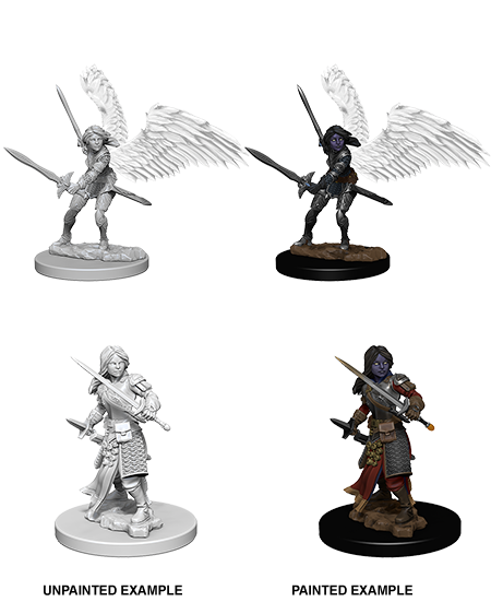 Nolzur's Marvelous Miniatures: Aasimar Female Paladin (73343)