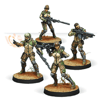 Infinity: Haqqislam Ghulam Infantry