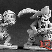 Reaper Dark Heaven Legends: Goblin Pirate and Powder Monkey (03211)
