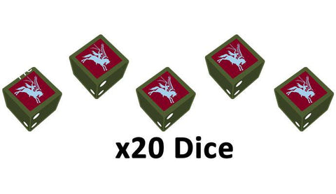 Flames of War: Late War: British 6th Airbourne Division Dice Set (BR906)