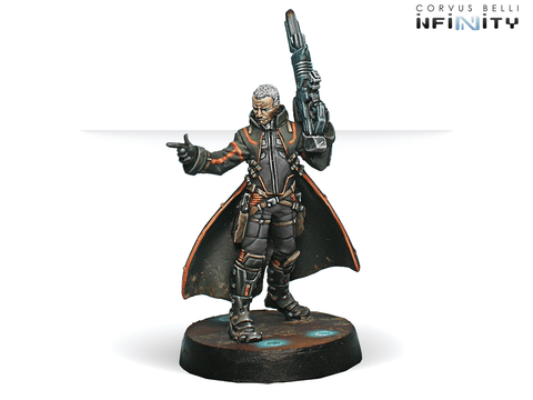 Infinity: Mercenaries Father Lucien Sforza, Authorized Bounty-Hunter (Viral Rifle + ADHL)