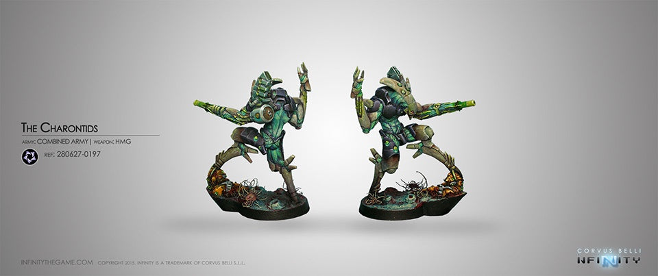 Infinity: Combined Army The Charontids (HMG)
