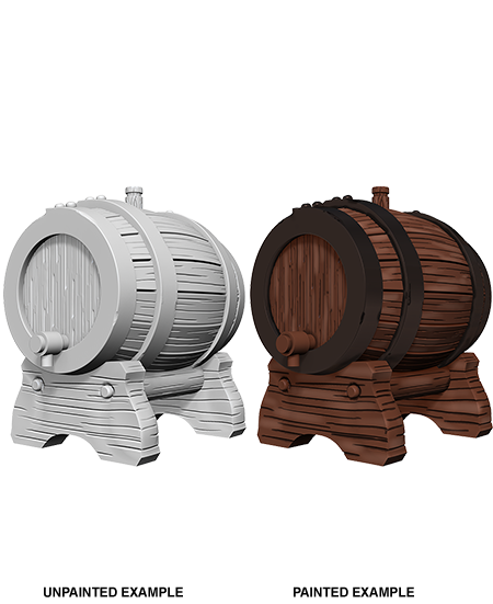 WizKids Deep Cuts Miniatures: Keg Barrels (72595)