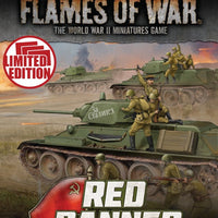 Flames of War: Mid War: Soviet: Red Banner Unit Cards (FW250U)