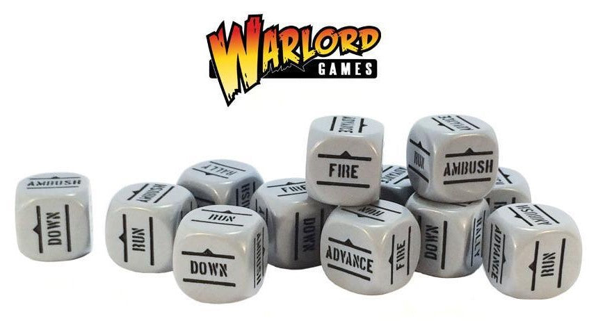 Bolt Action: Grey Order Dice