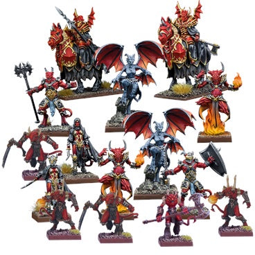 Kings of War Vanguard: Abyssal Warband set