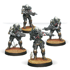 Infinity: Haqqislam KTS, Kaplan Tactical Services