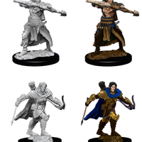 Pathfinder Deep Cuts Unpainted Miniatures: Male Half Elf Ranger (73544)