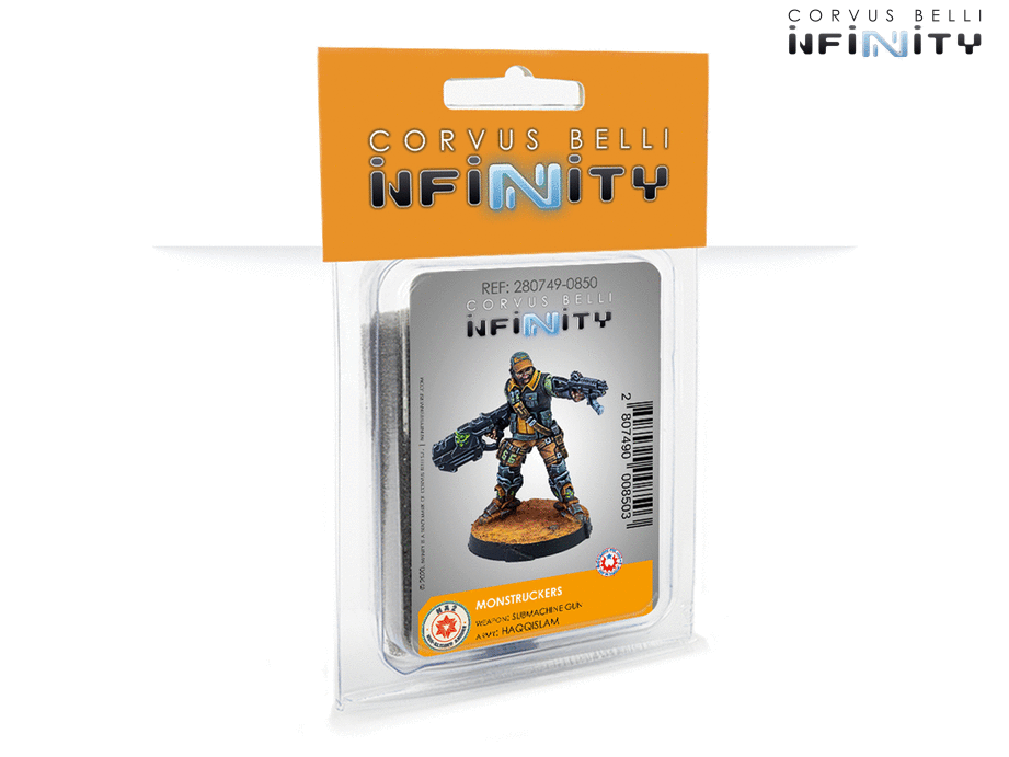 Infinity: NA2 Monstruckers Submachine-Gun (280749)
