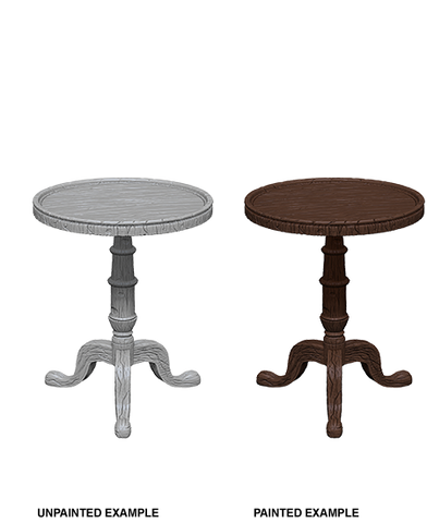 WizKids Deep Cuts Miniatures: Small Round Table (73365)