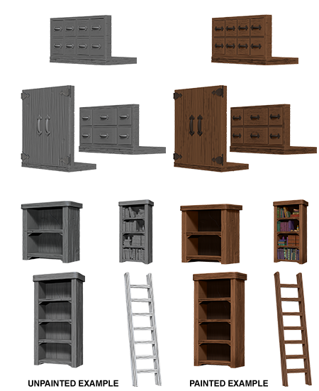 Nolzur's Marvelous Miniatures: Archivist Library (73363)