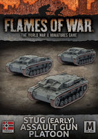 Flames of War: Mid War: German: StuG (Early) Assault Gun Platoon (GBX109)
