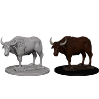 Nolzur's Marvelous Miniatures: Oxen (73099)