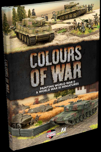 Flames of War / Team Yankee: Colours of War Hardcover (FW918)