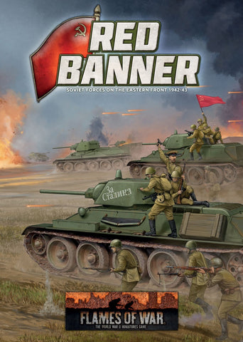 Flames of War: Mid War: Soviet: Red Banner Book (FW250)