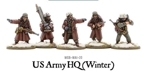 Bolt Action: United States: Winter Army HQ