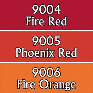 Reaper Triads: Fire Colors (09702)