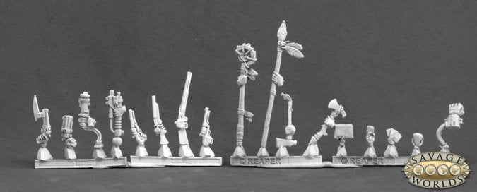 Reaper Savage Worlds: Deadlands Weapons and Accessories (59026)